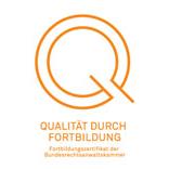 Siegel Qualität durch Fortbildung